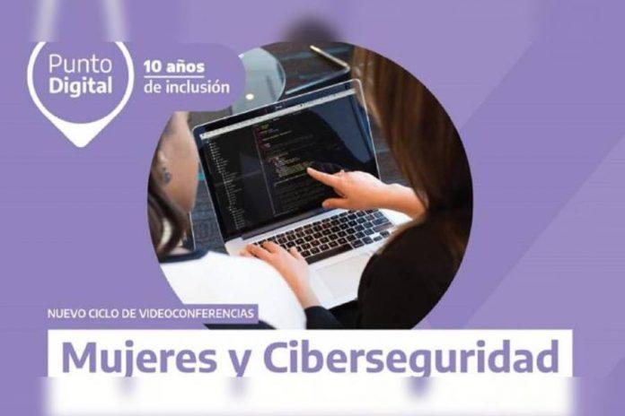 ciclo de videoconferencias sobre mujeres y ciberseguridad